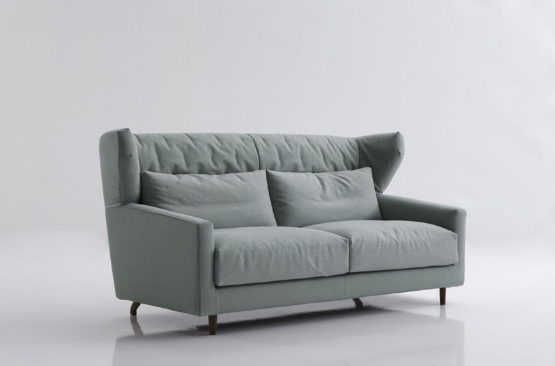 ... Contemporary Sofa / Fabric / 3 Seater / Gray FOLK By Rafa Garcia SANCAL  ...