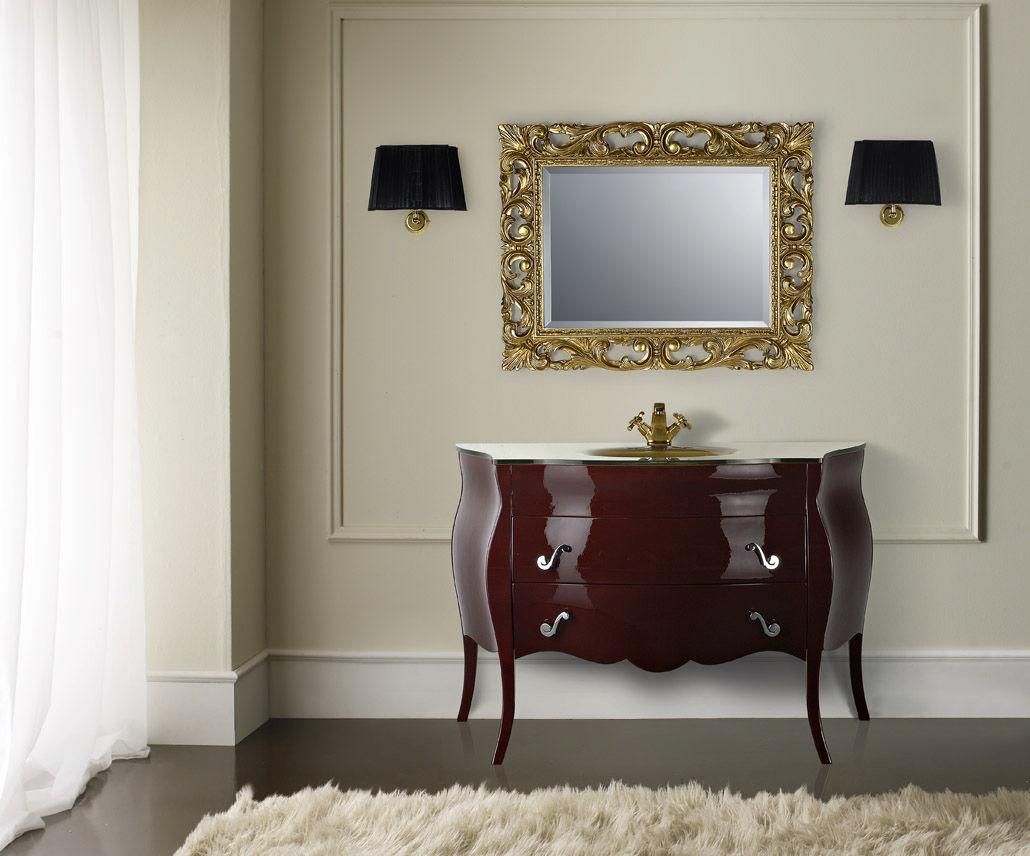 Free-standing washbasin cabinet / wooden / classic - LYRA - Mobili ...