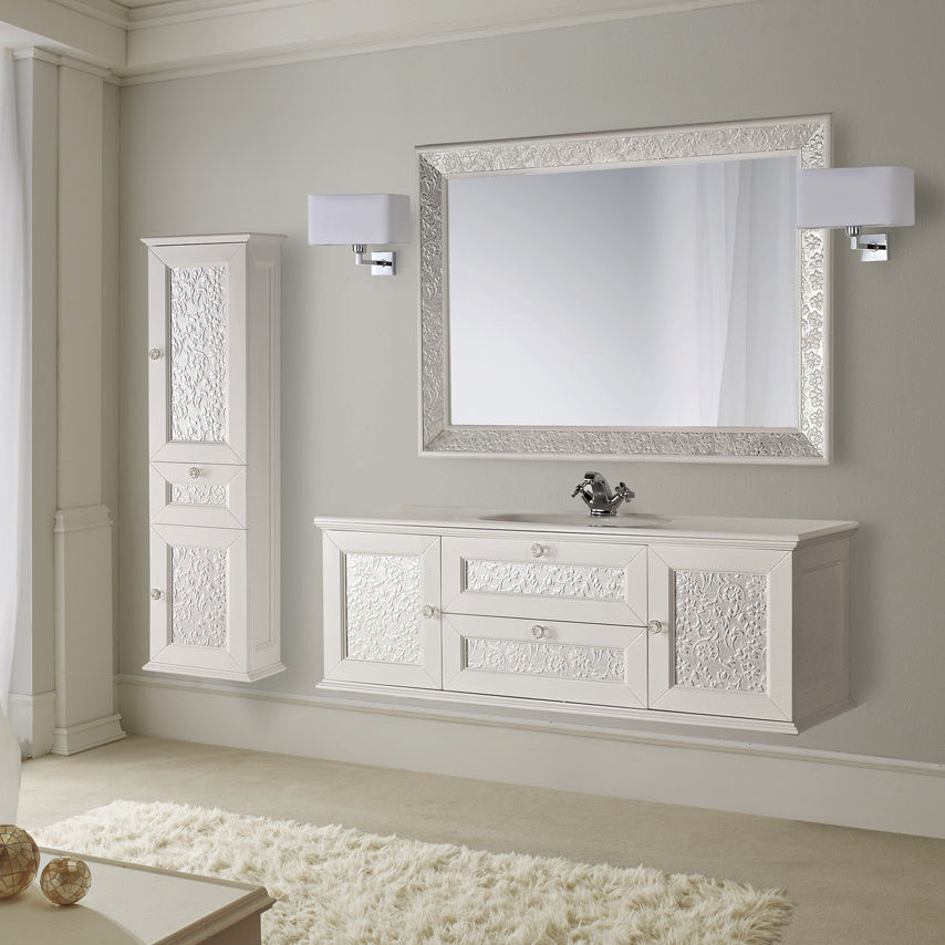 Wooden washbasin cabinet / contemporary / kit - EROS - Mobili di ...