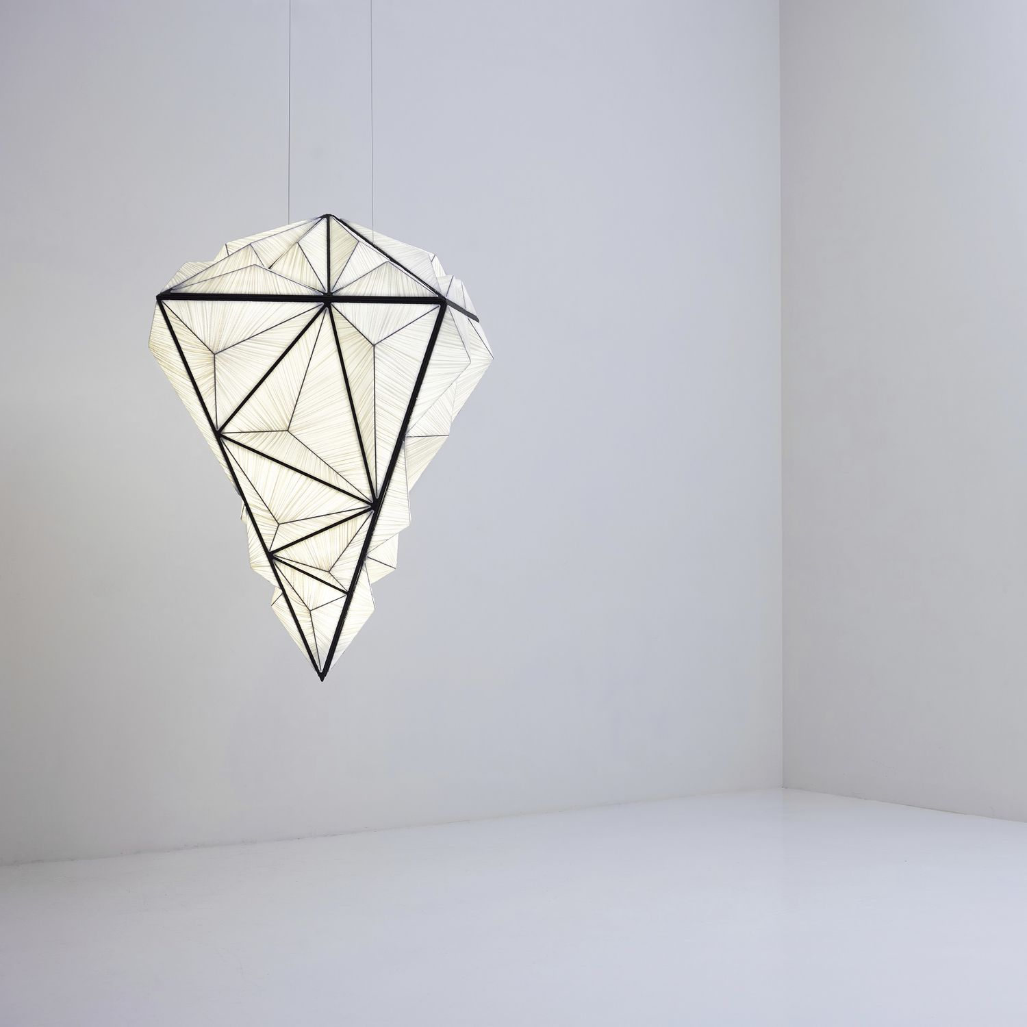 Pendant Lamp Original Design Metal Silk