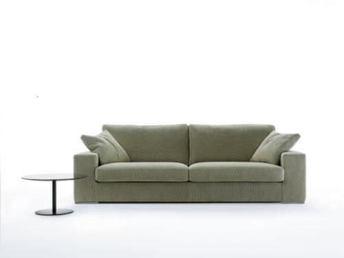 Superb Contemporary Sofa / Cotton / 2 Person / Gray   AUCKLAND
