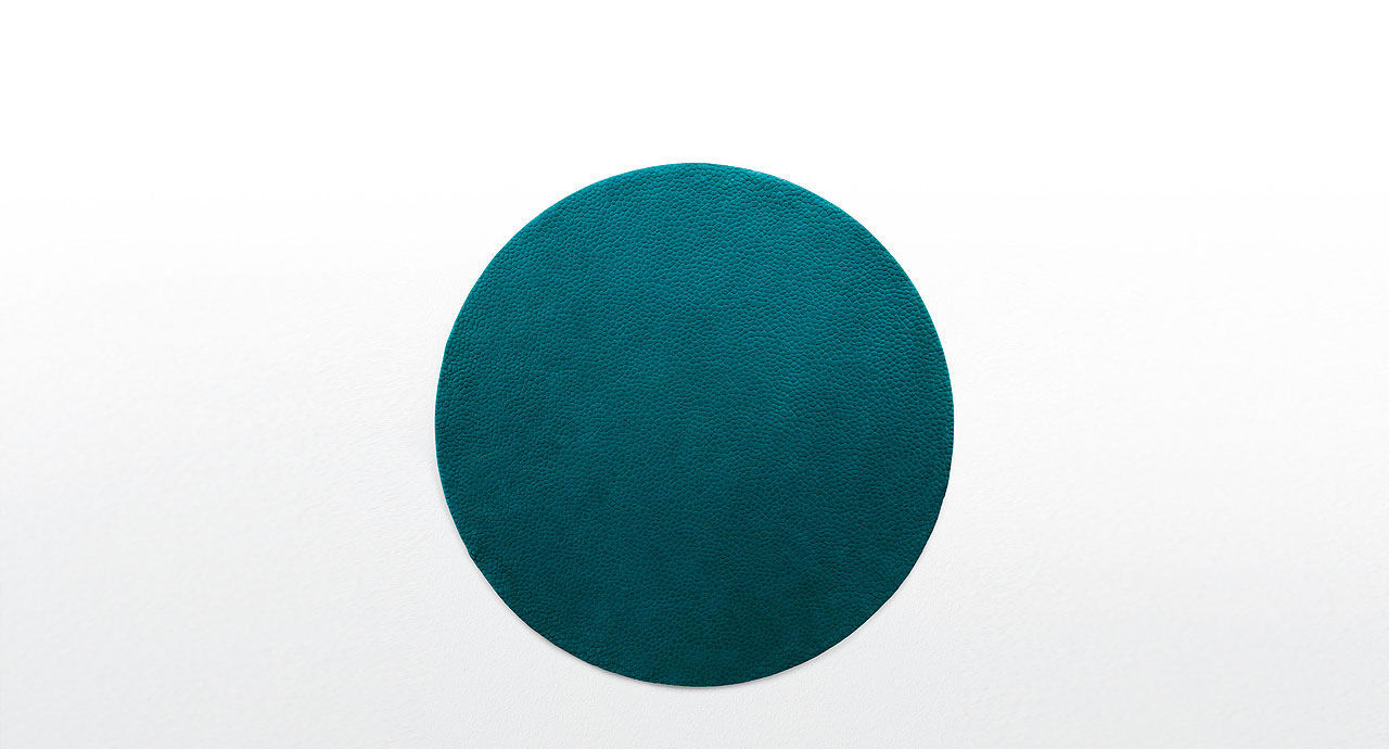 Contemporary Rug / Plain / Wool / Round SHORE PAOLA LENTI ...