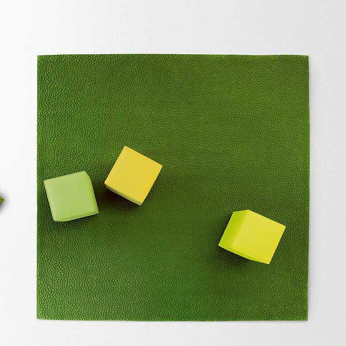 ^ ontemporary rug / plain / wool / square - : SHO - POL LNI