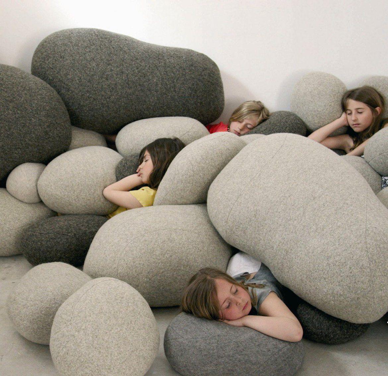 Merveilleux Sofa Cushion / For Chairs / Floor / Round   LIVINGSTONES By Stéphanie Marin