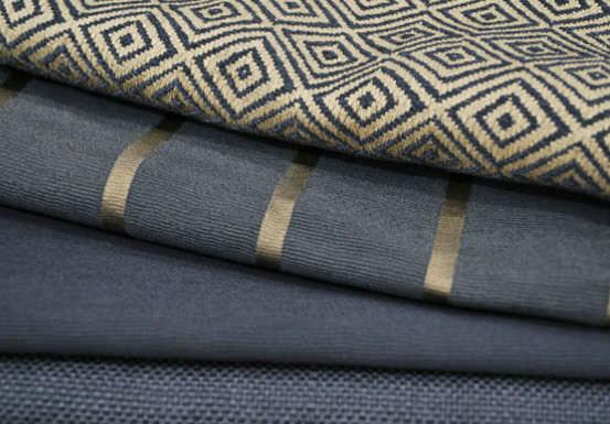 Upholstery Fabric Plaid Trevira Cs Fire Rated Pepartout
