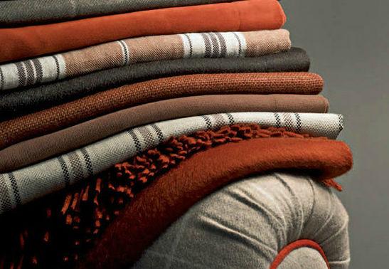 Upholstery Fabric Plaid Wool Mountain Interiors