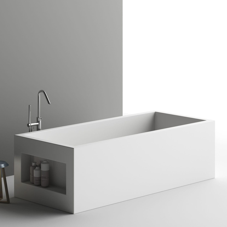 Free Standing Bathtub / Corian® AQUARIUS PLANIT ...