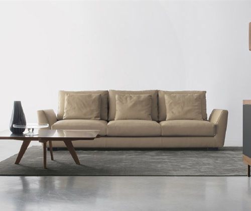 Modular sofa / contemporary / fabric / 3-seater - JACOB - Nuova ...