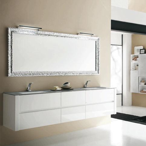 Double washbasin cabinet / wall-hung / wooden / laminate - PROGRAMMA ...