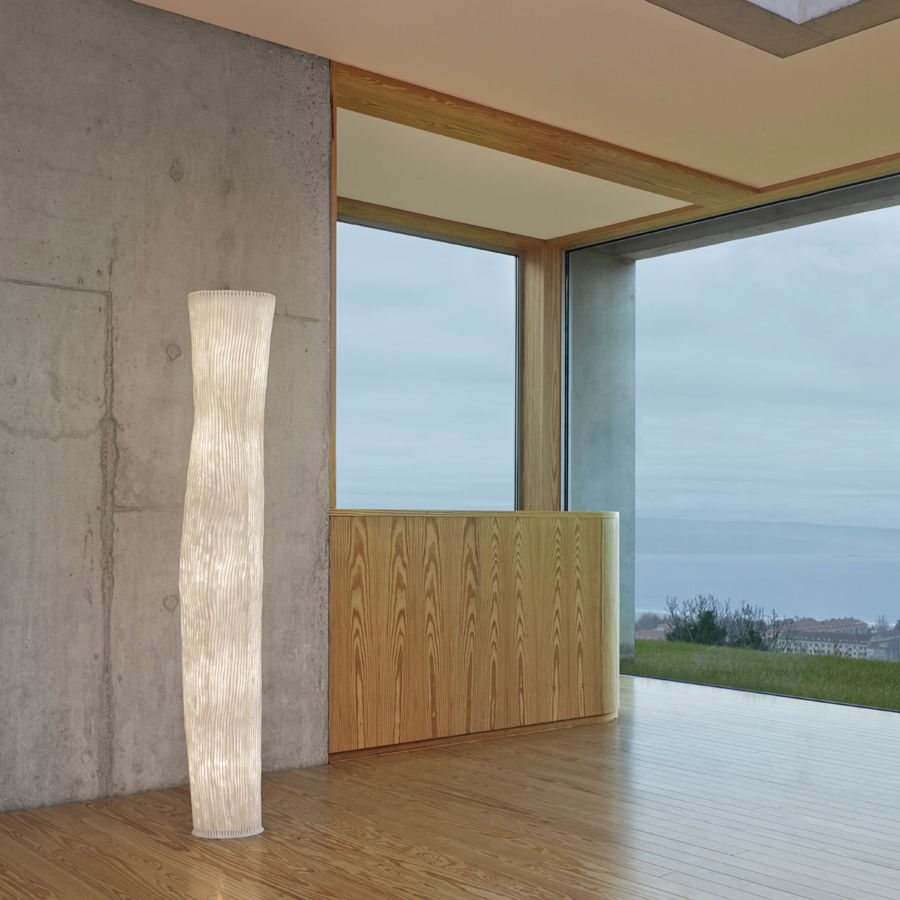 original design light column stainless steel led indoor gea rh archiexpo com