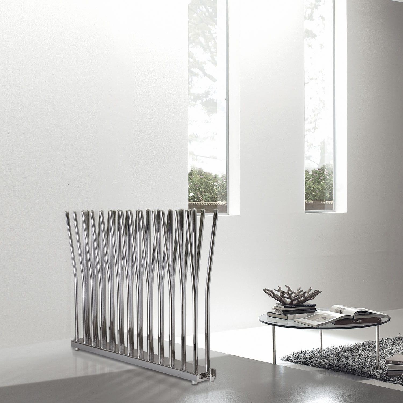 hot water radiator metal original design horizontal bambuu0027