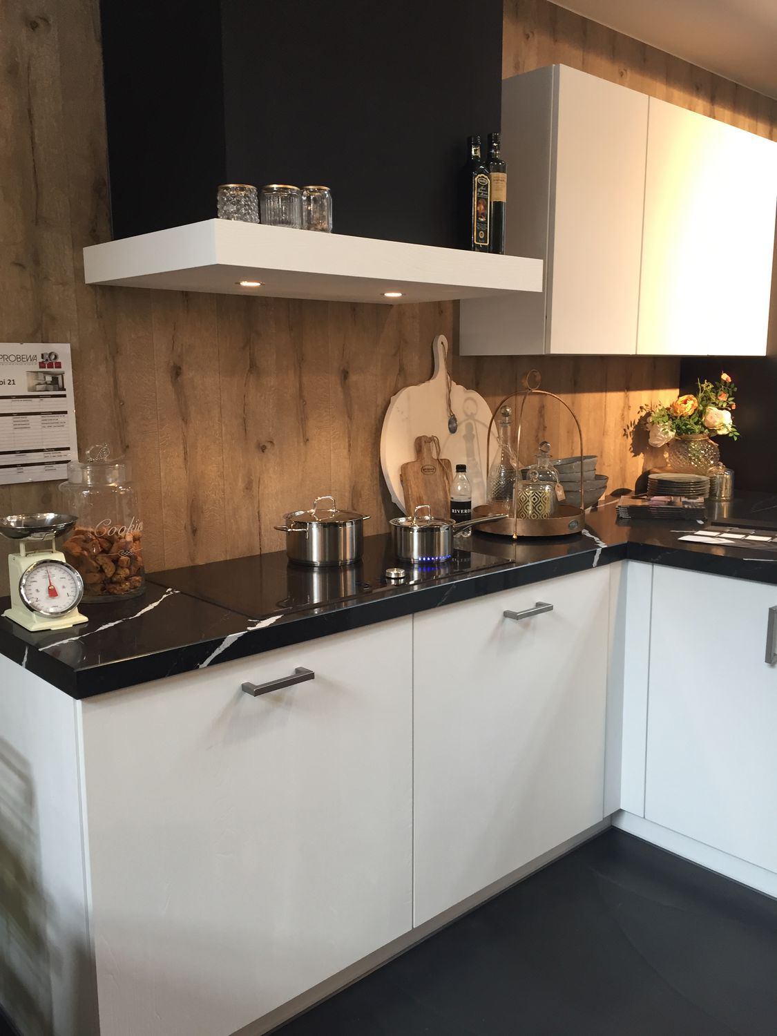 Silestone® countertop / marble / kitchen / white - MARQUINA - Cosentino