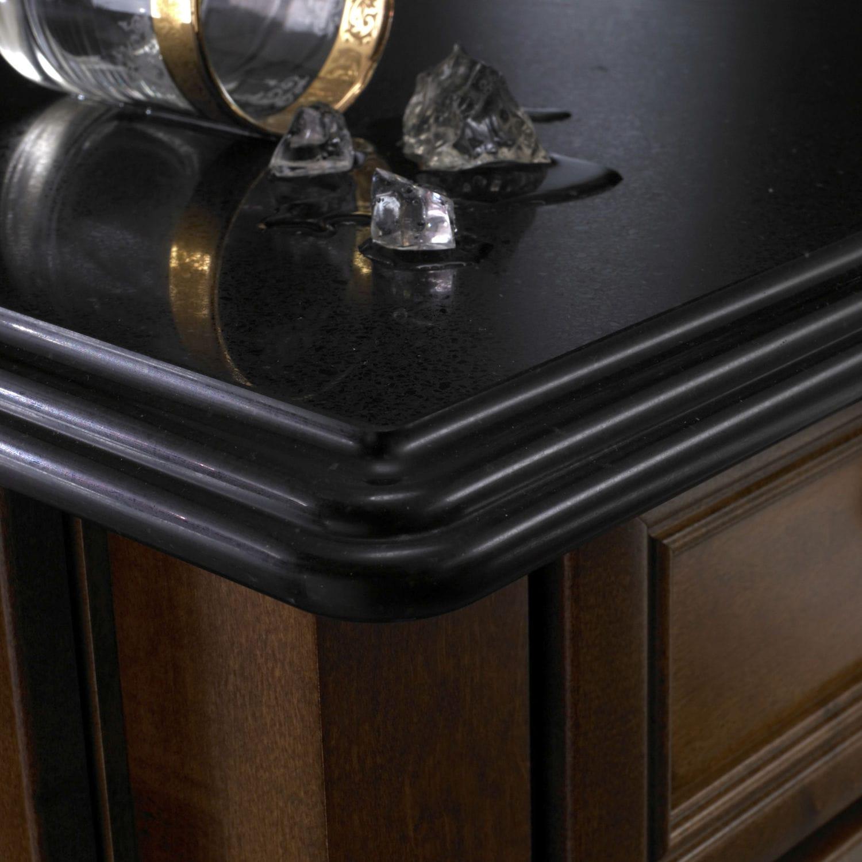 Silestone® Countertop / Quartz / Kitchen / Black   MYTHOLOGY : NEGRO ANUBIS