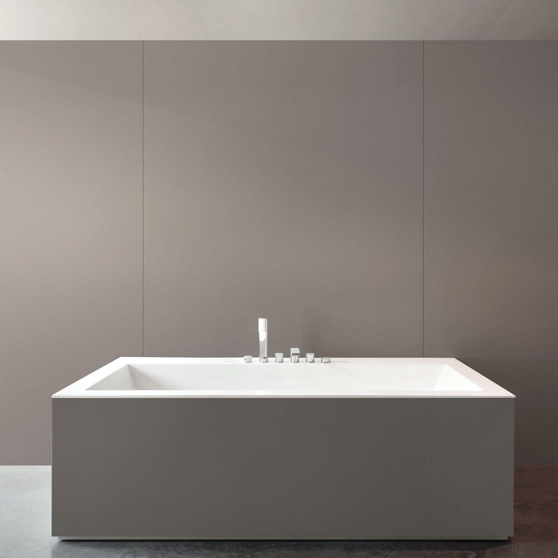 Rectangular bathtub surround - GALEMA - Cosentino