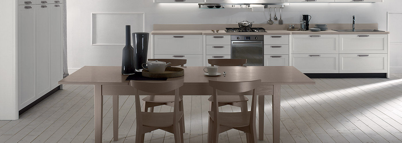 Contemporary kitchen / wooden / lacquered - FLY - NEW - Torchetti ...