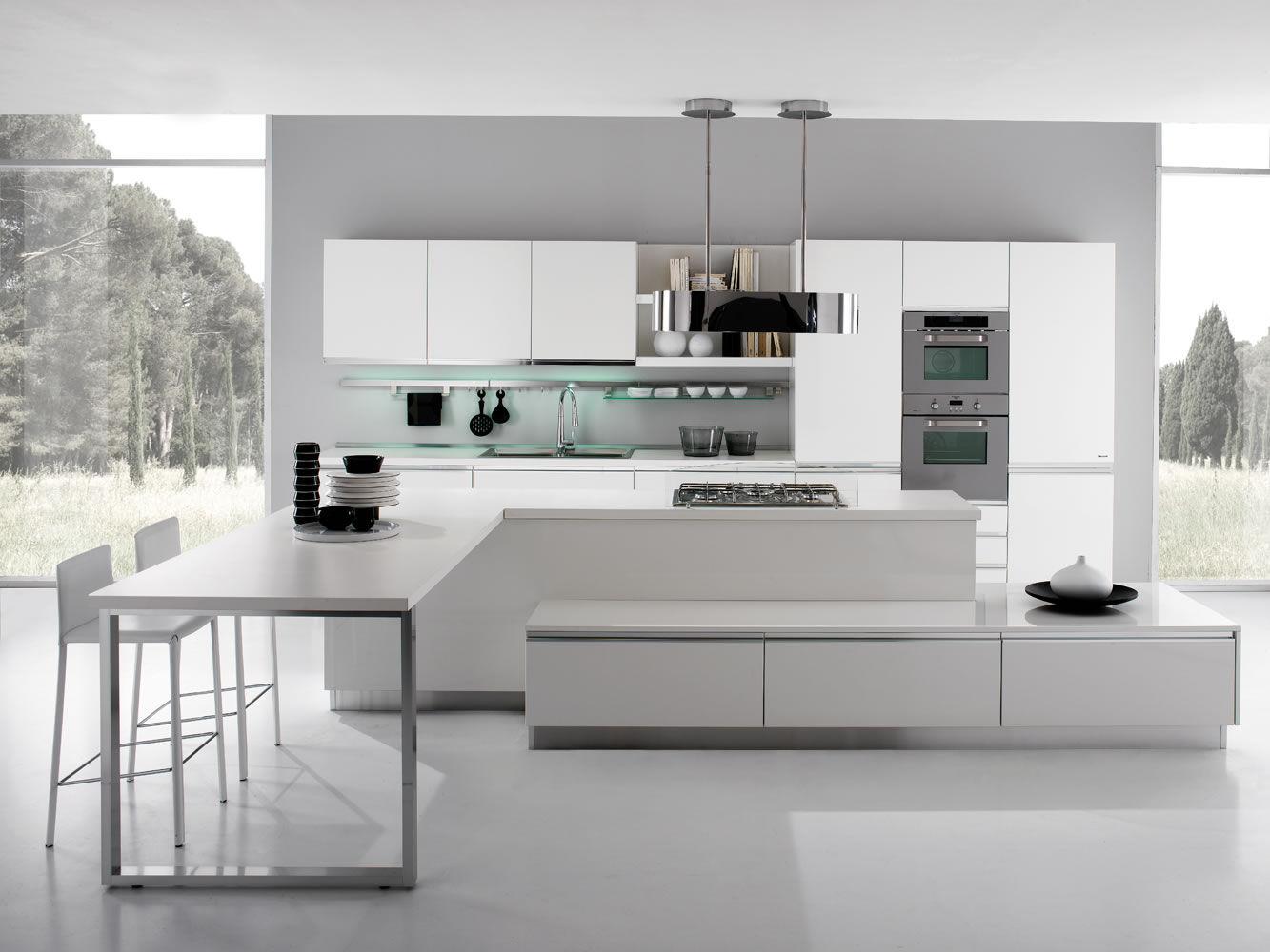 cucina moderna in laminato glass zampieri cucine. cucine moderne ...