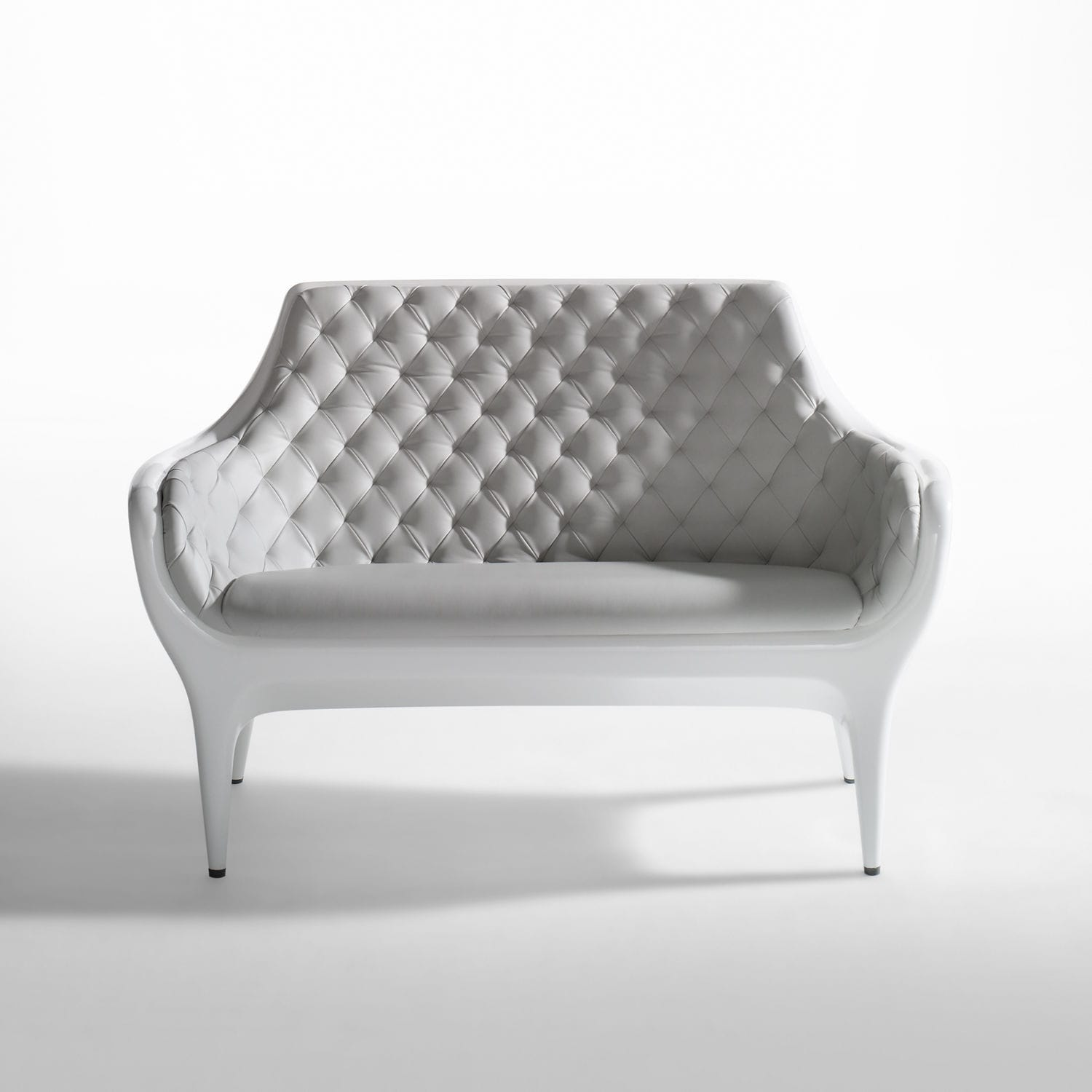 Contemporary Sofa / Leather / Polyethylene / By Jaime Hayon   SHOWTIME