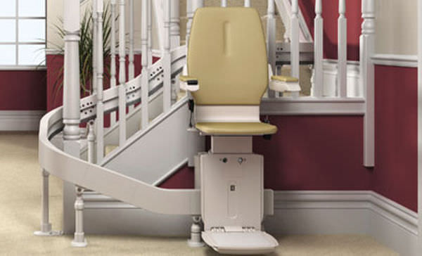 Indoor Chair Stair Lift / Rotating   THE ACORN 80