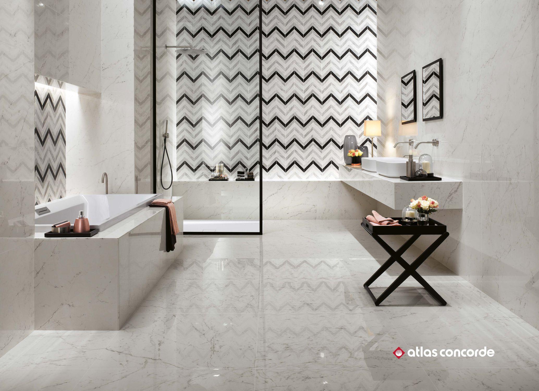 Atlas Concorde indoor tile wall porcelain stoneware matte marvel