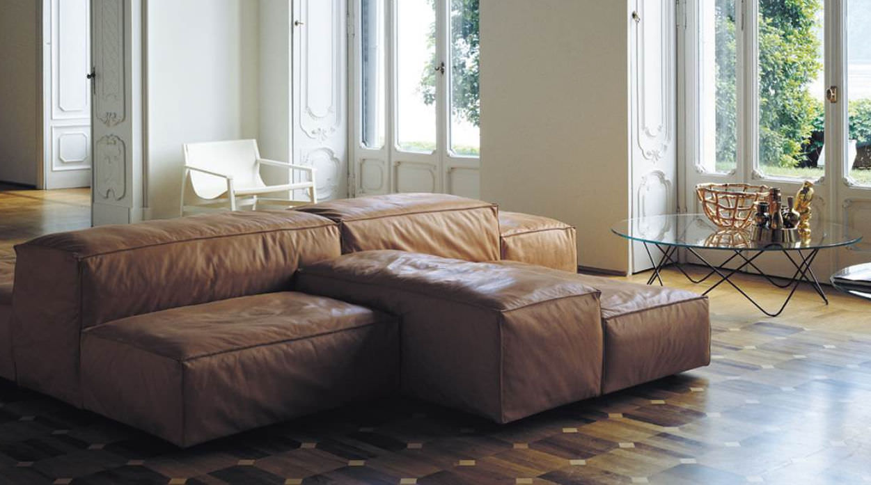 Modular Sofa / Contemporary / By Piero Lissoni / 3 Seater   EXTRASOFT