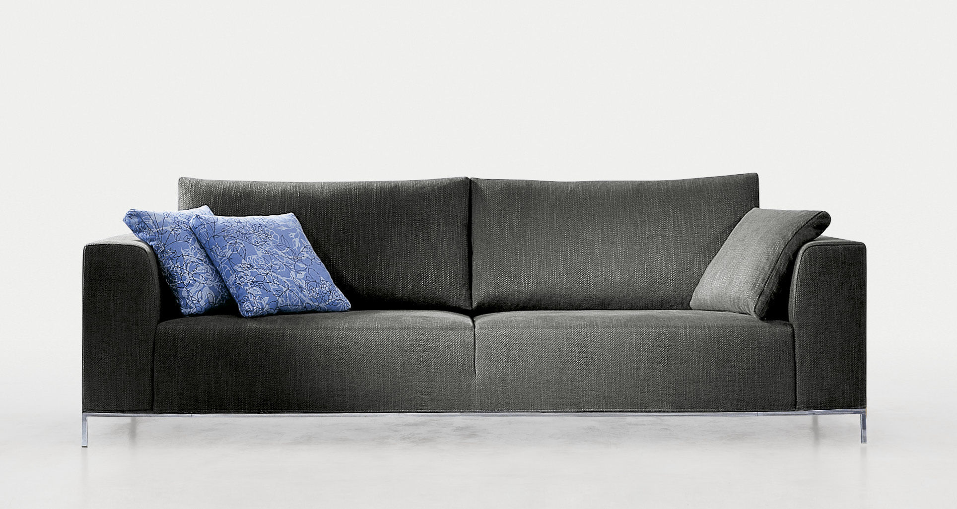 Contemporary Sofa Fabric 2 Person With Removable Cover VoilÀ By Gabriel Teixidó