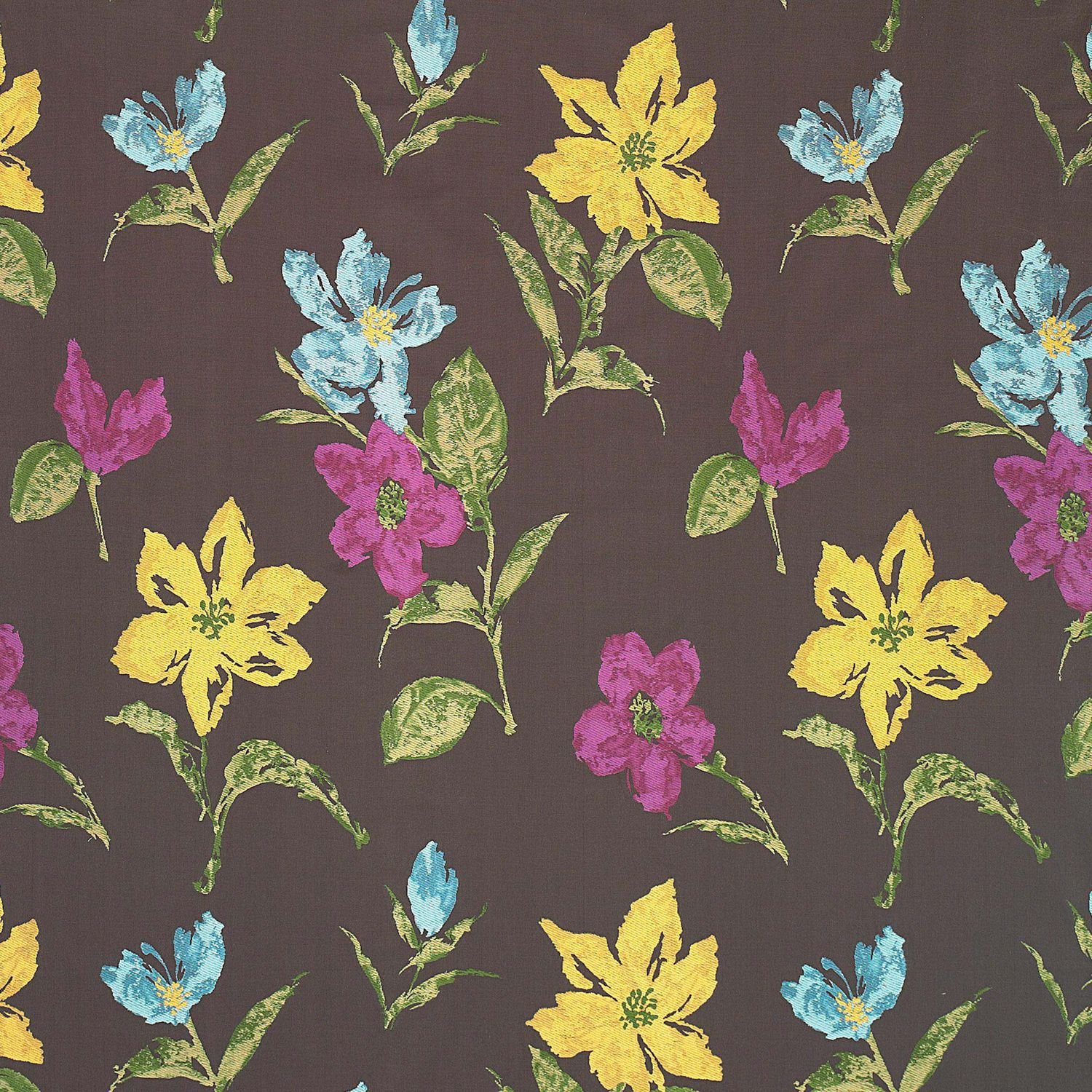 Upholstery Fabric For Curtains Floral Pattern Cotton Aruba  ~ Telas De Tapiceria Gaston Y Daniela