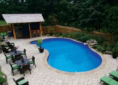 In-ground swimming pool / steel / wall / outdoor - OASIS - Kafko ...
