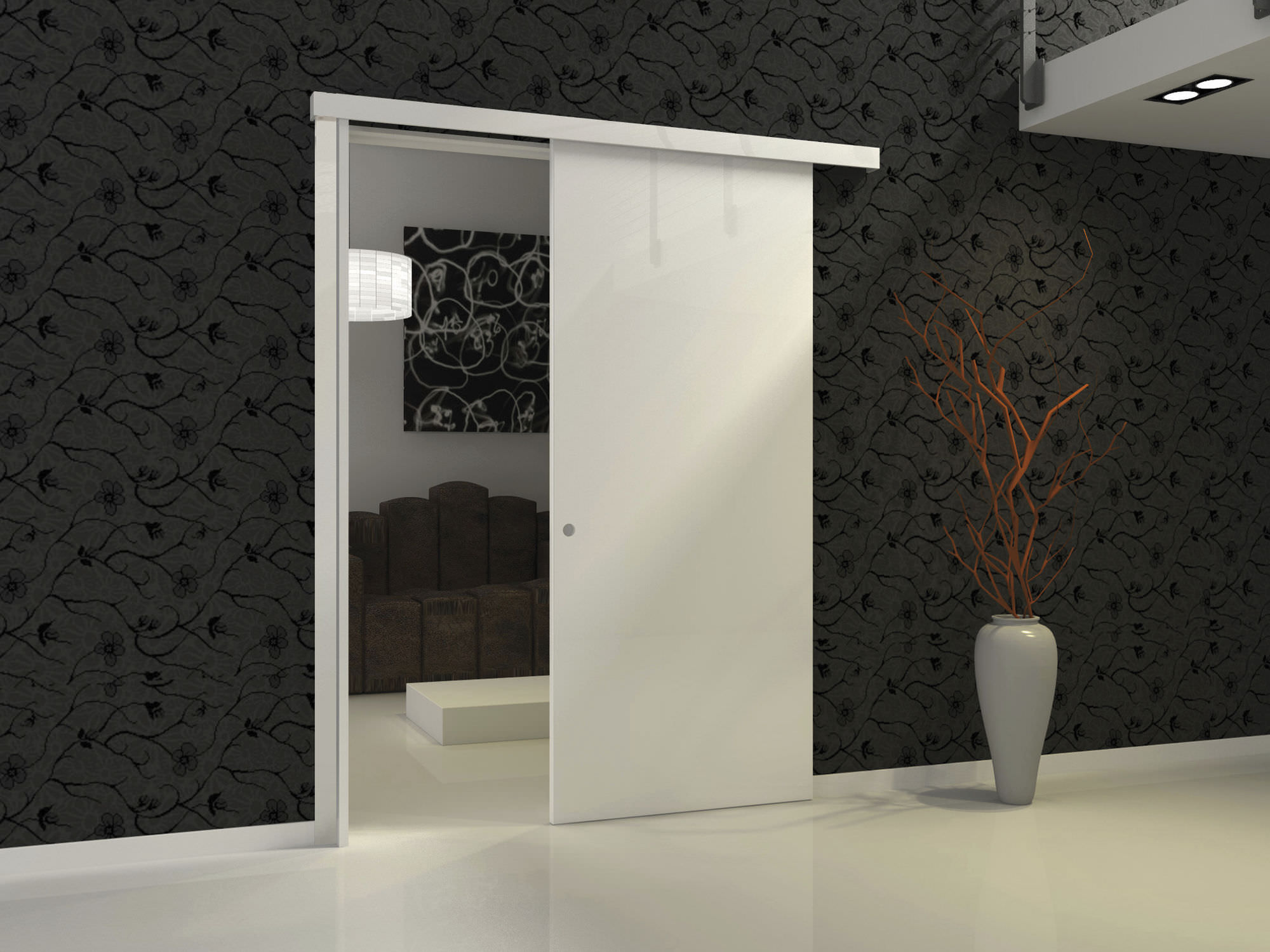 Sliding Door Pocket System Woody Protek