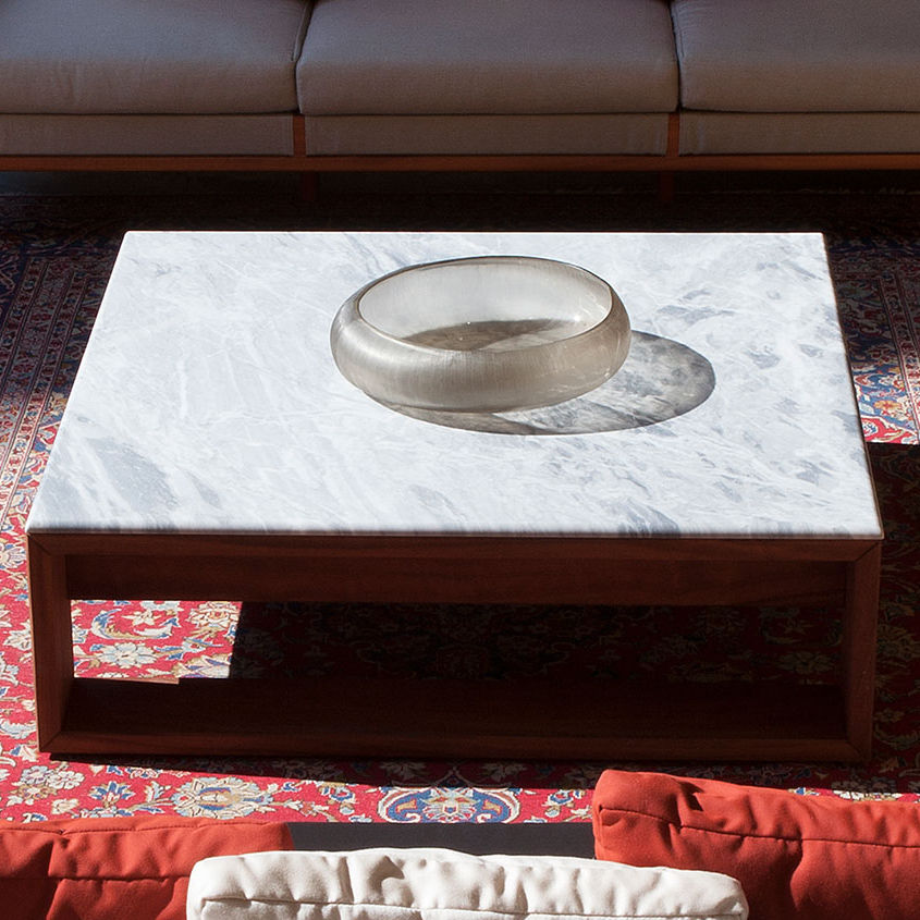 Mainstay Coffee Table.Contemporary Coffee Table Mahogany Marble Rectangular