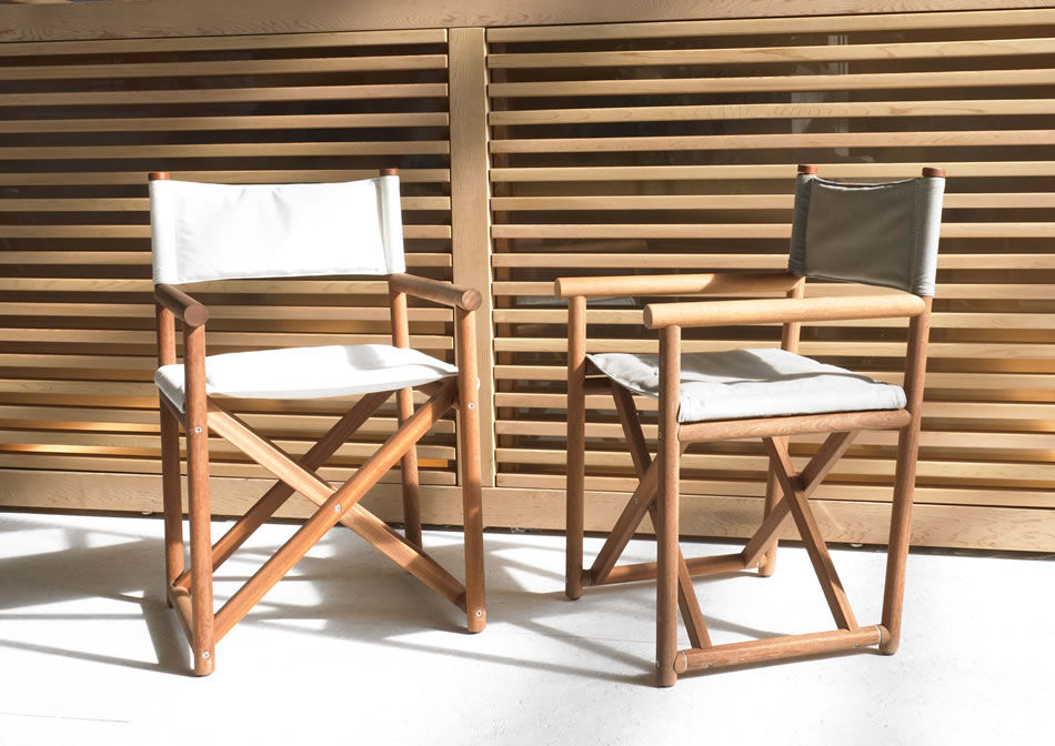 ... Contemporary Chair / With Armrests / Folding / Directoru0027s ...