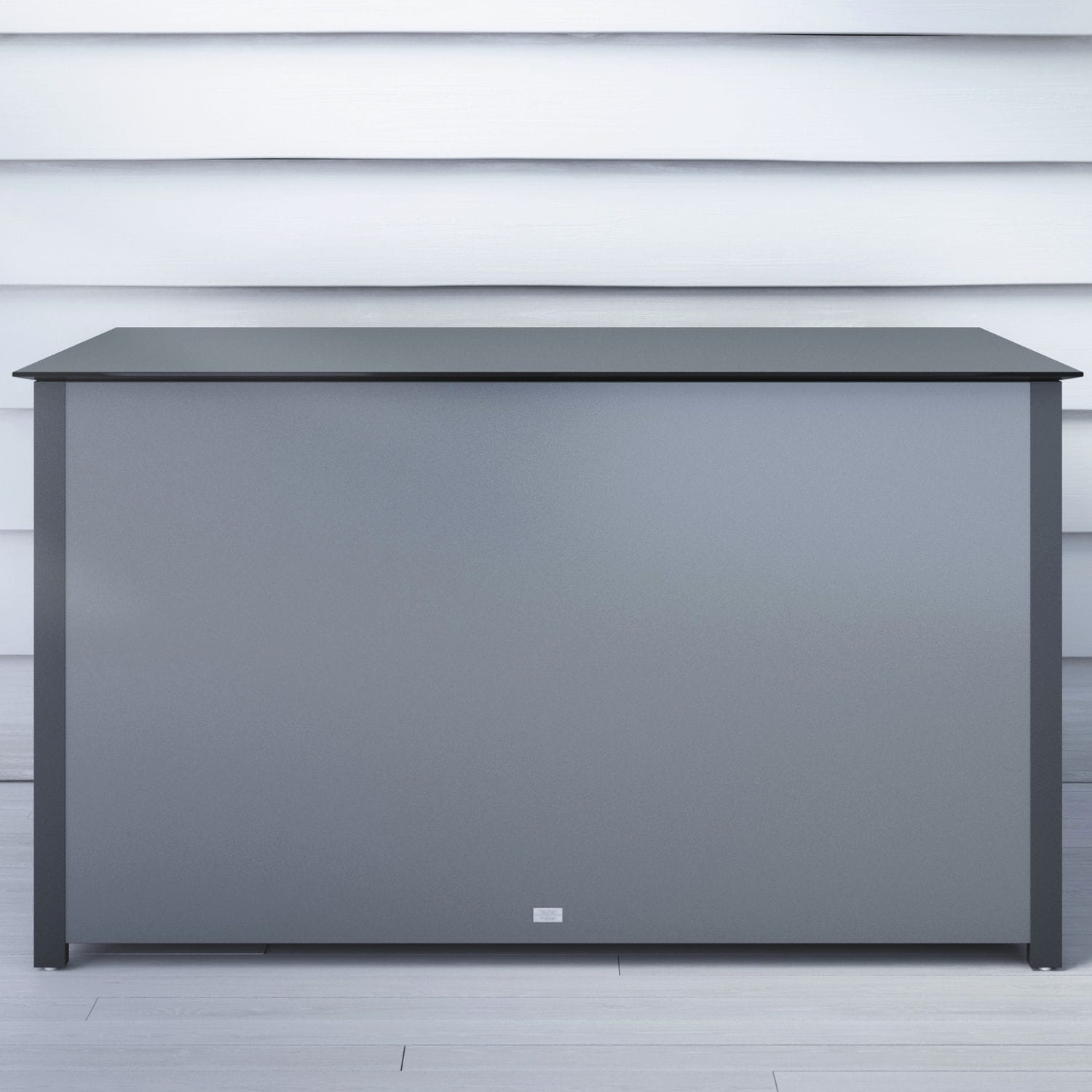 contemporary chest / garden / aluminum / cushion - kissentruhe ... - Wohneinrichtung In Garage
