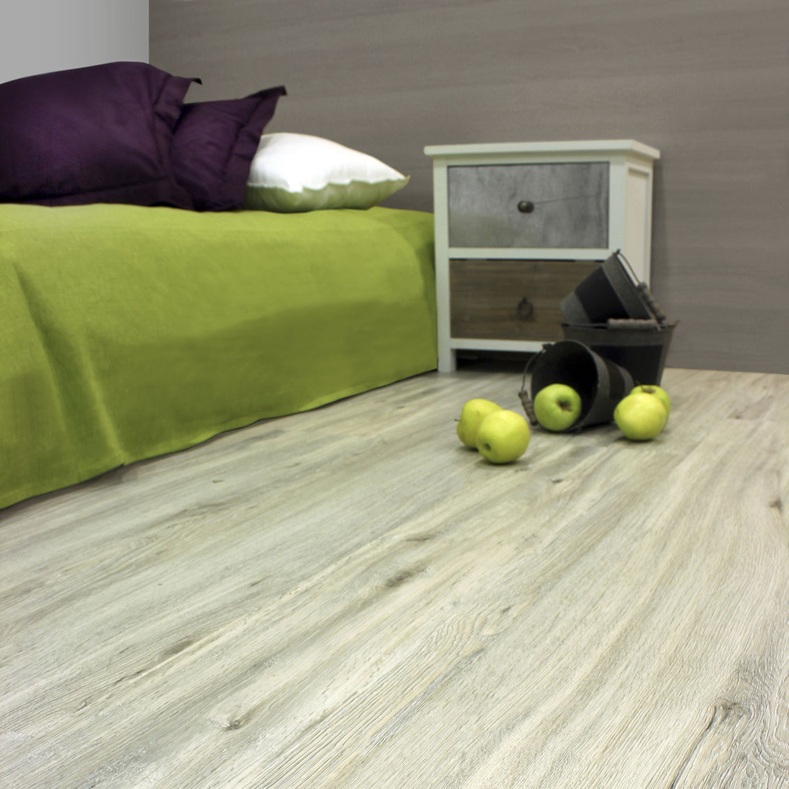 Oak Laminate Flooring / Floating / Residential   ROBLE DECAPE