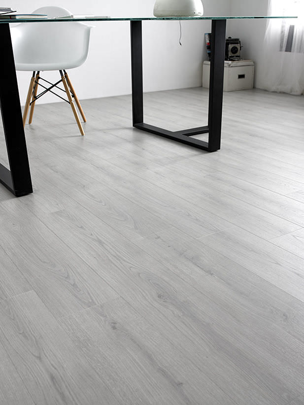 Oak Laminate Flooring Floating For Domestic Use Commercial