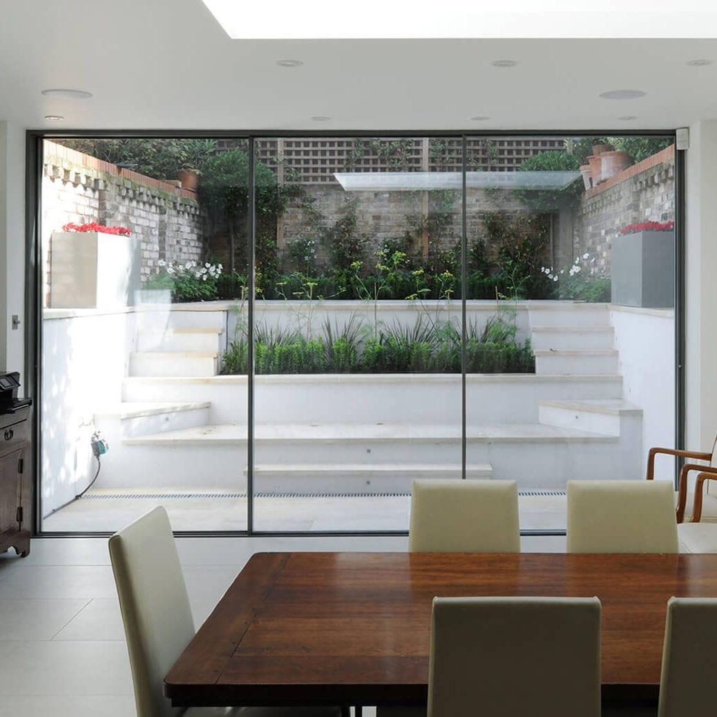 Sliding Patio Door / Metal / Double Glazed   SKY FRAME CLASSIC