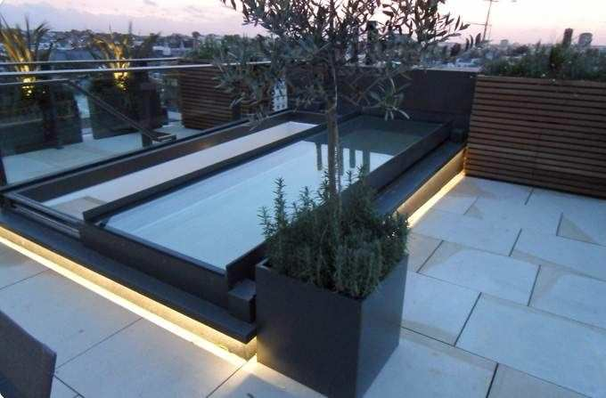 Awesome Metal Skylight / Retractable   OPENING SLIDING