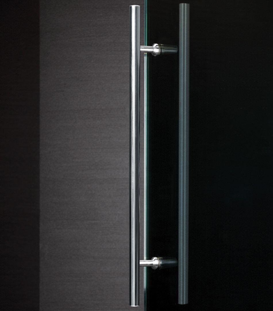 Sliding Door Pull Handle Glass Door For Shower Doors Stainless