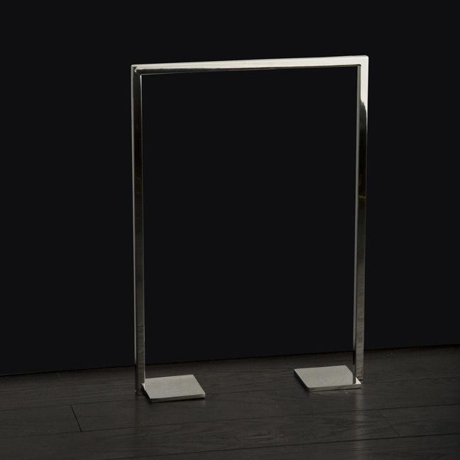 floor towel stand. 1-bar Towel Rack / Floor-standing Stainless Steel Brass - LINEA: DE181/DE182/DE183 Floor Stand