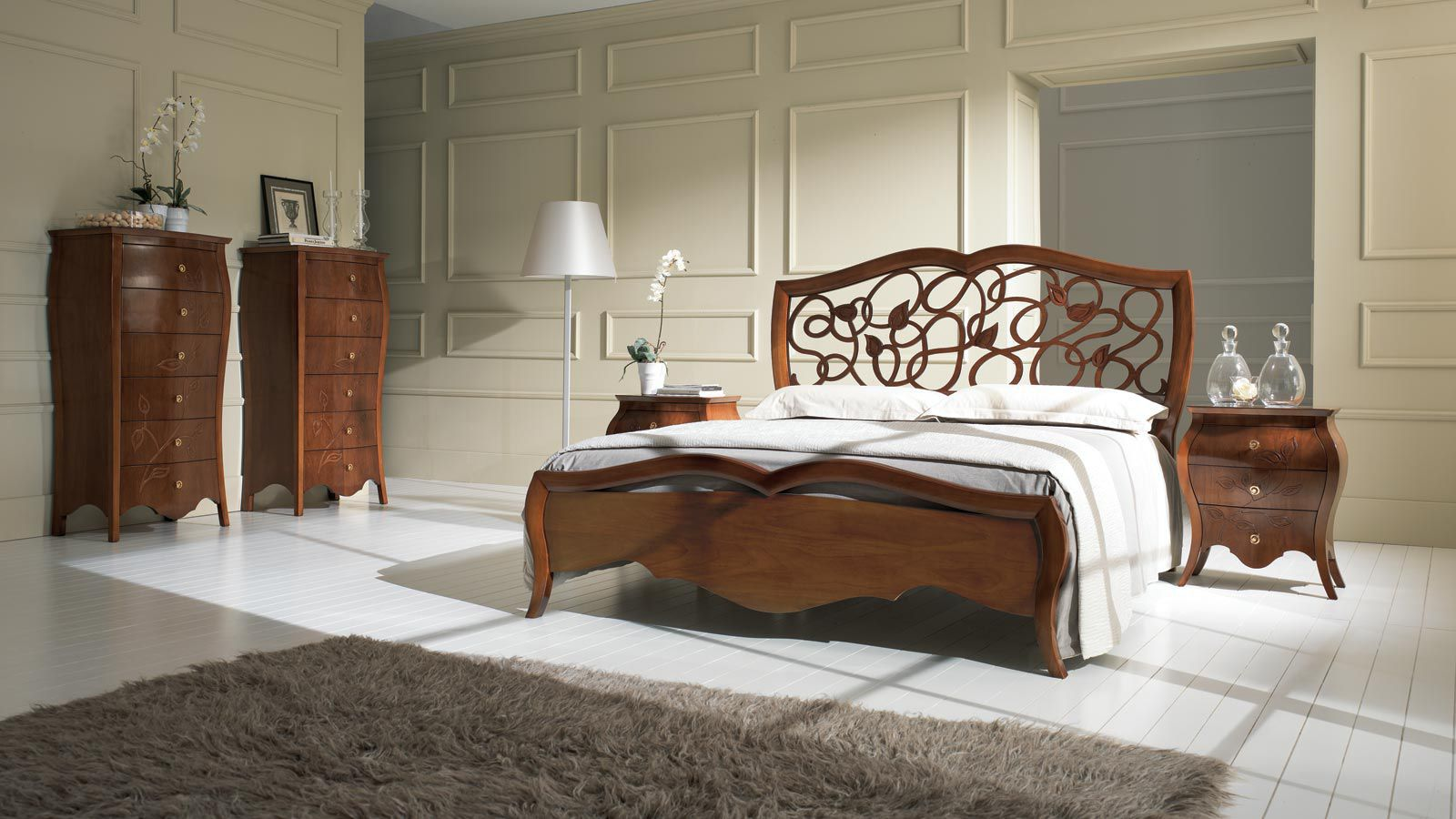 Double bed / classic / wooden - MY CLASSIC DREAM - Stilema
