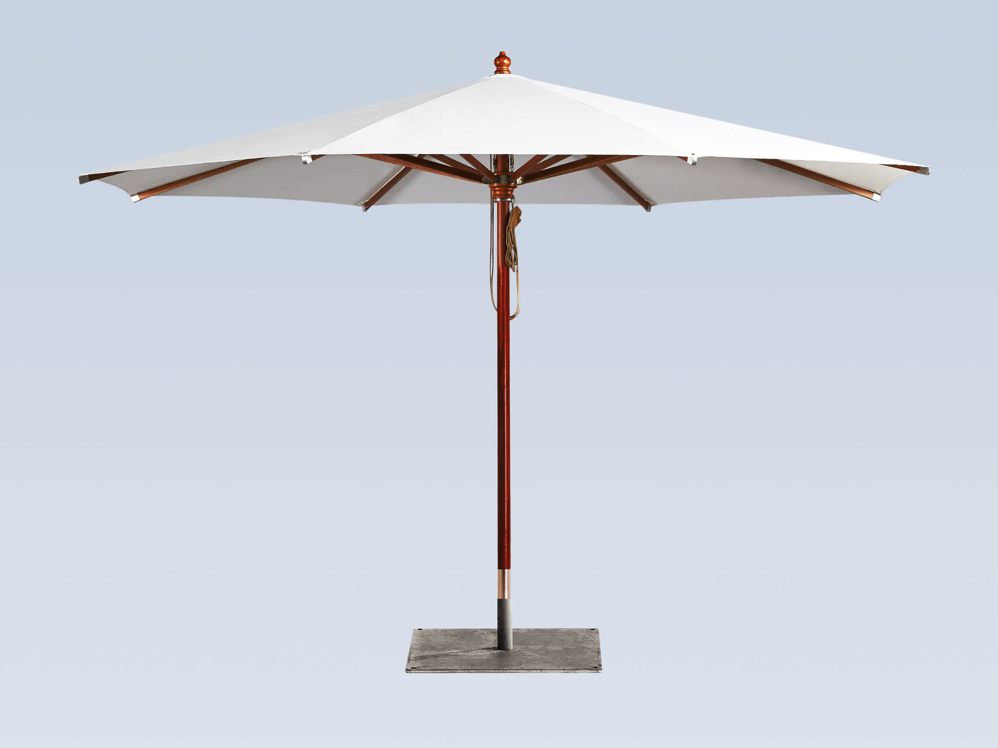 Commercial Patio Umbrella / Fabric / Wooden H MDT ...
