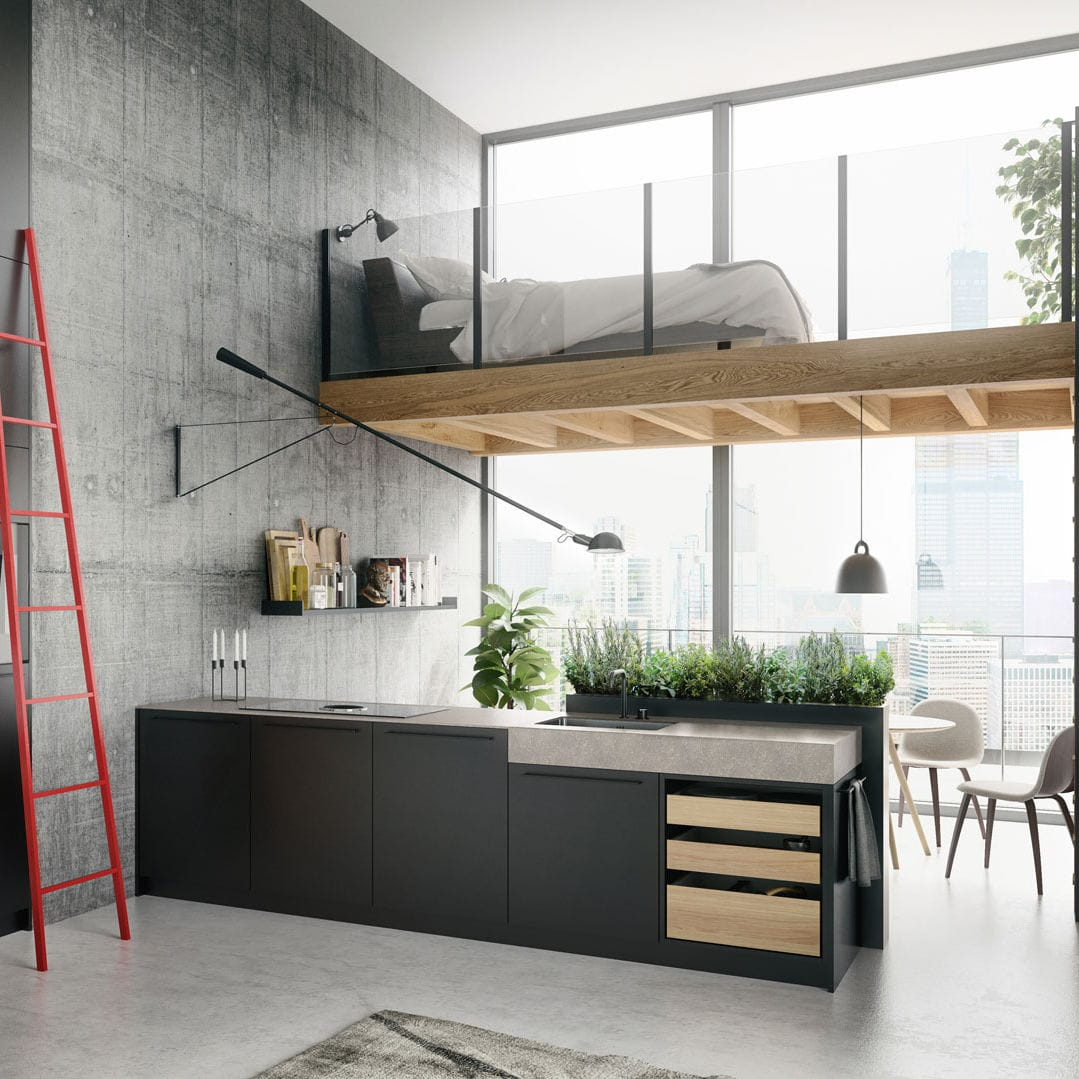 Kitchen Island Urban Se 8008 Lm