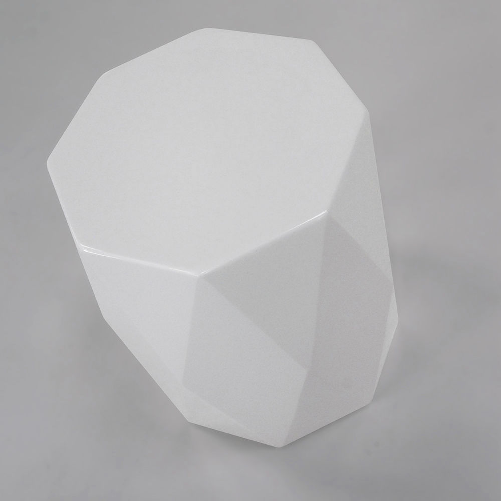 Captivating ... Contemporary Side Table / Plastic / Octagonal GEM HB Group ...