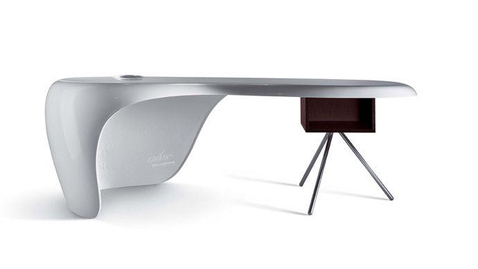 Schreibtisch modern  Executive desk / wooden / melamine / contemporary - UNO - Della ...