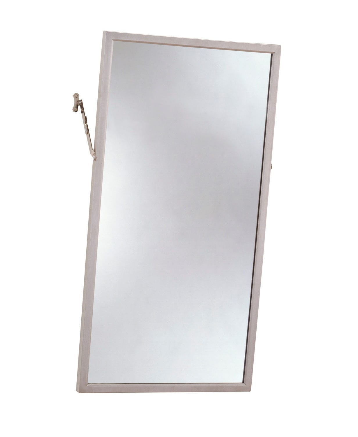 Wall-mounted bathroom mirror / tilting / handicapped / contemporary ...