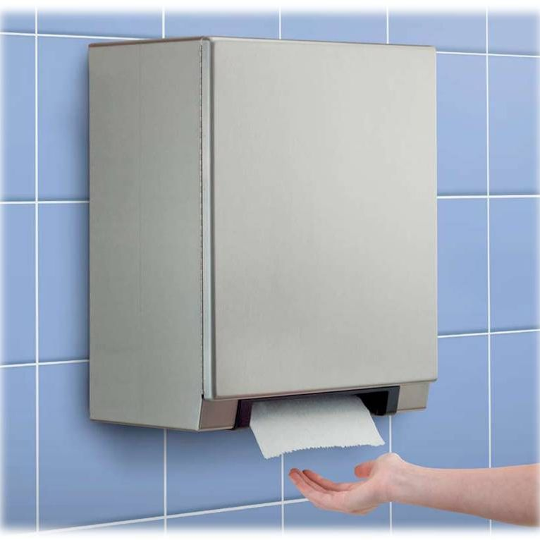 commercial electronic bathroom paper towel dispenser b 2974 classicseries autoroll - Commercial Bathroom Paper Towel Dispenser