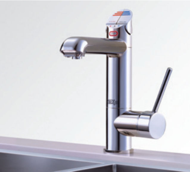 Chromed Metal Mixer Tap Kitchen 1 Hole Boiling Water All In