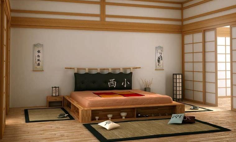 Double bed / contemporary / beech / with shelves - LIBROLETTO - Double Bed / Contemporary / Beech / With Shelves - LIBROLETTO - Cinius