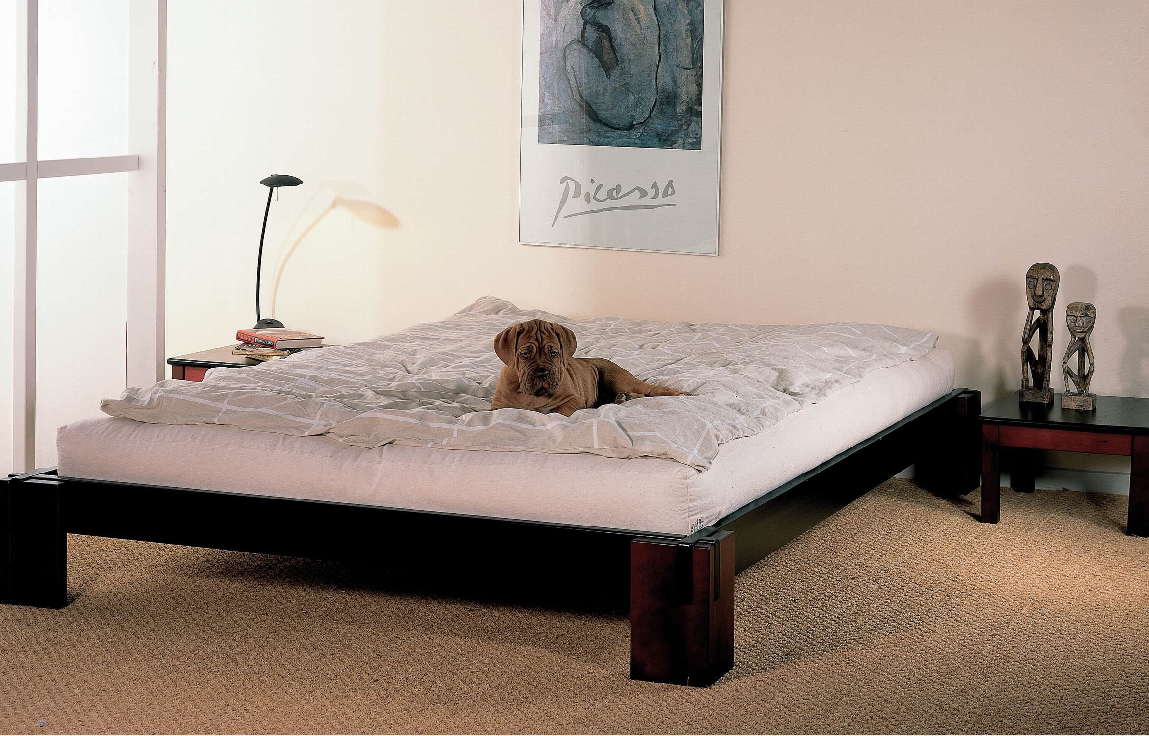 Double bed designs in wood - Double Bed Contemporary Wooden Tokyo