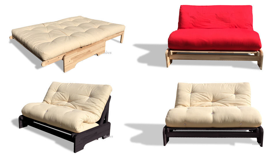 Sofa Bed / Contemporary / Wooden / 2 Seater ROMA Cinius
