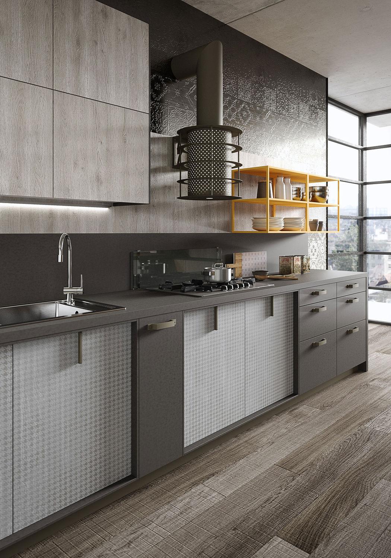 ... Contemporary Kitchen / Laminate ...