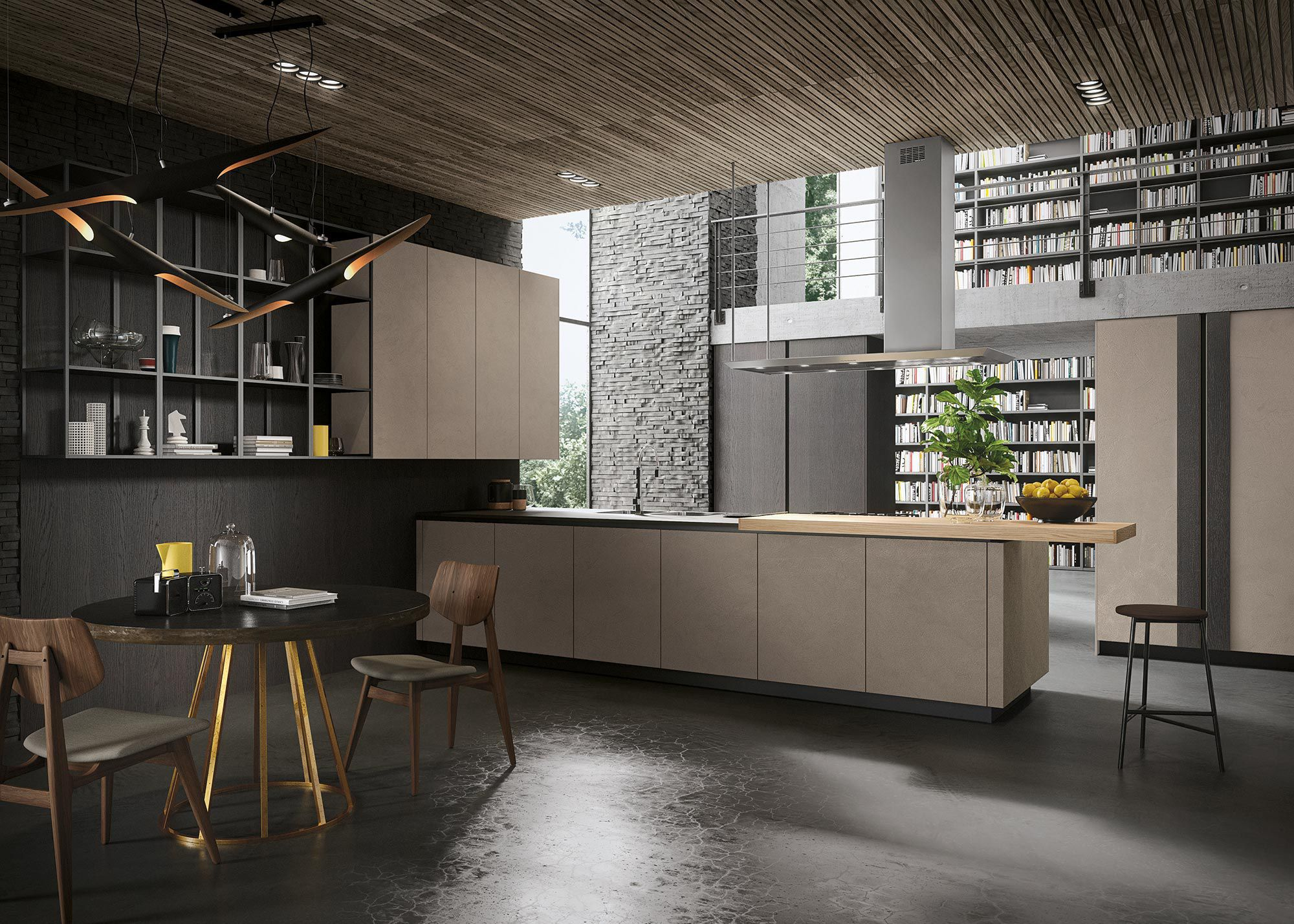 Kitchen Stainless Steel Look By Michele Marcon Design Snaidero With Snaidero .